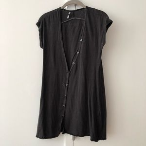 THEORY Relaxed Cotton Tunic size S